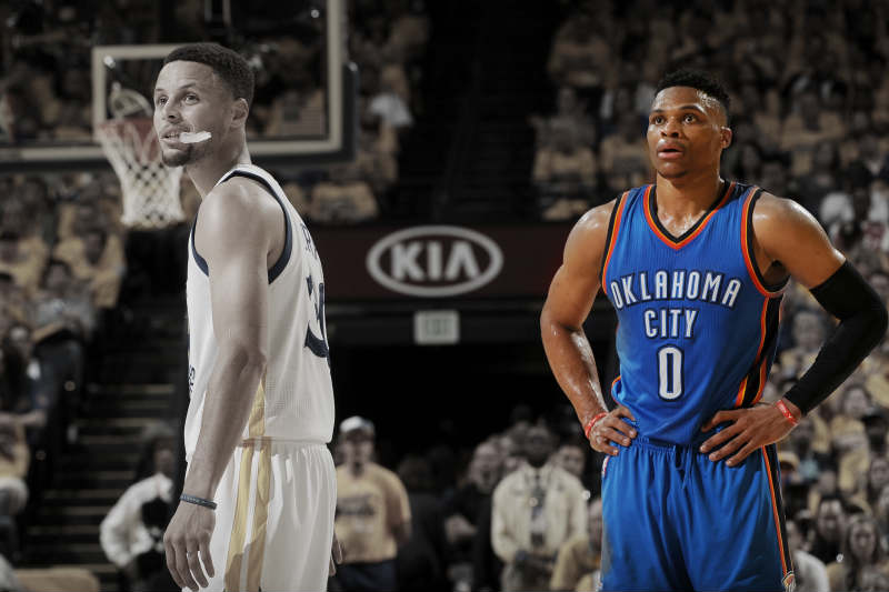 Russell Westbrook-Stephen Curry