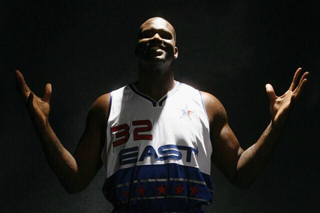 Shaquille O'Neal, estrella de la NBA