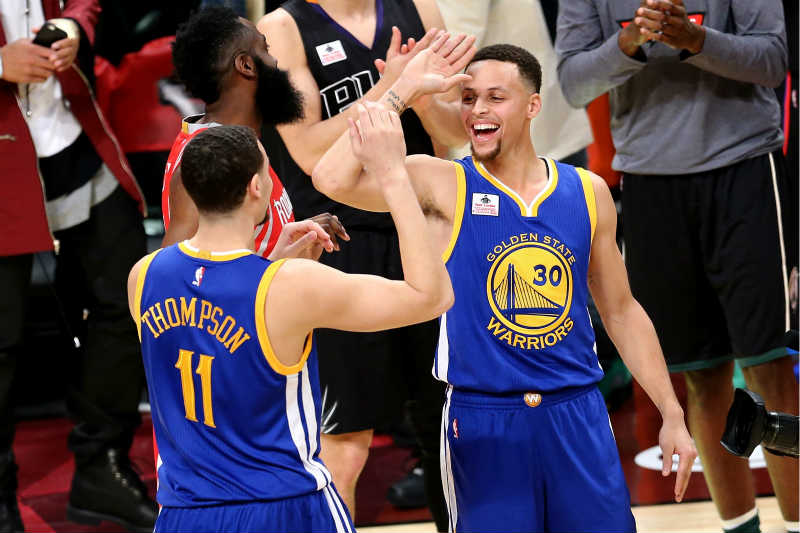 Stephen Curry-Klay Thompson