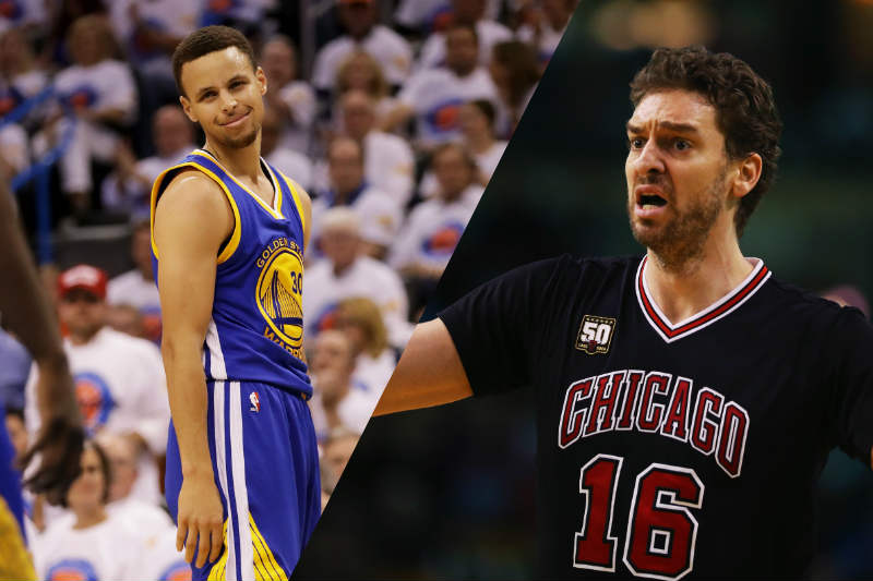 Stephen Curry-Pau Gasol