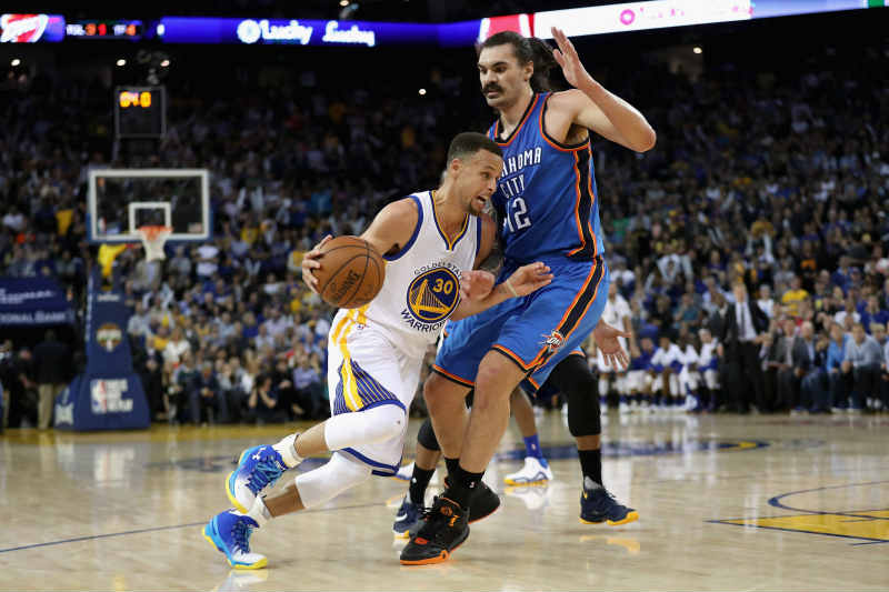 Steven Adams-Stephen Curry