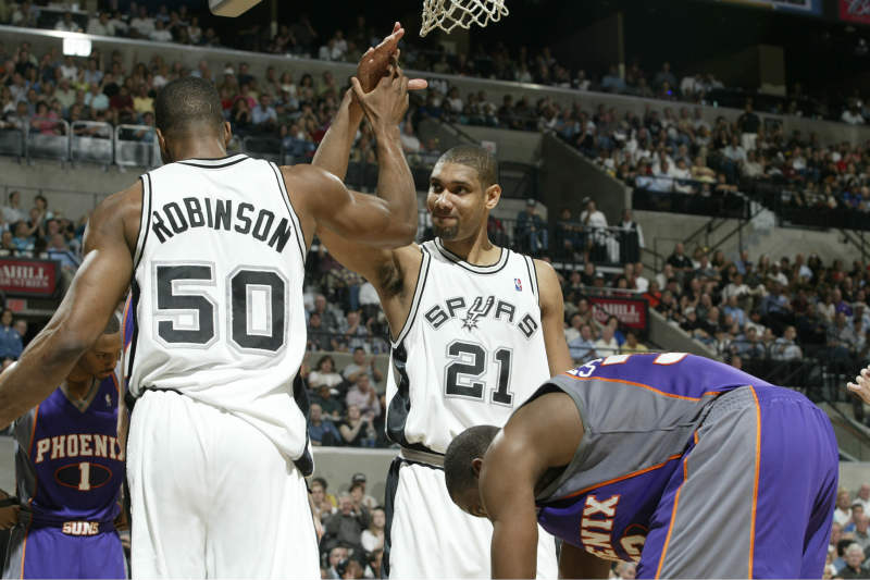 Tim Duncan-David Robinson