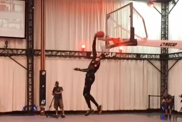 Zach LaVine captura movimientos para el NBA 2K