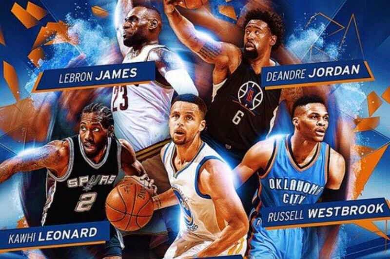 mejores quintetos NBA 2016