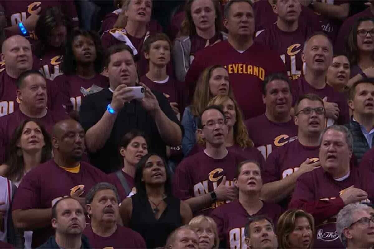 ¡Momentazo en Cleveland!