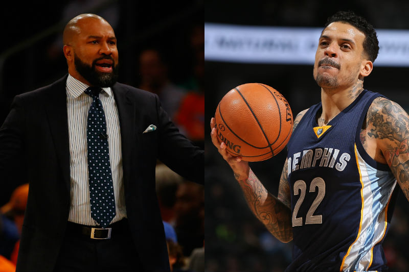 Derek Fisher, Matt Barnes