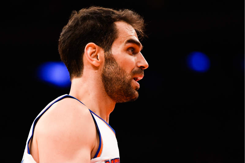 Jose Calderón de New York Knicks