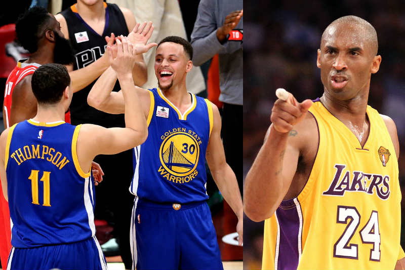 Kobe Bryant-Klay Thompson-Stephen Curry
