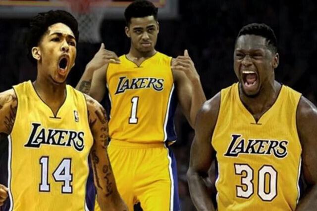 Los jóvenes de Los Angeles Lakers