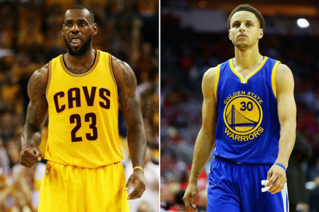 LeBron James y Stephen Curry, estrellas de Akron