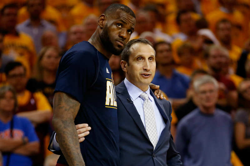 LeBron James - David Blatt