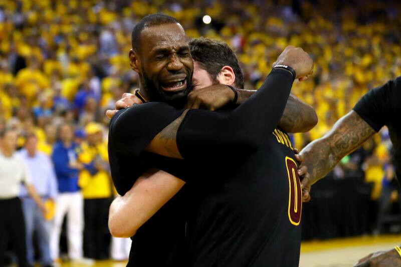 LeBron James campeón NBA 2016