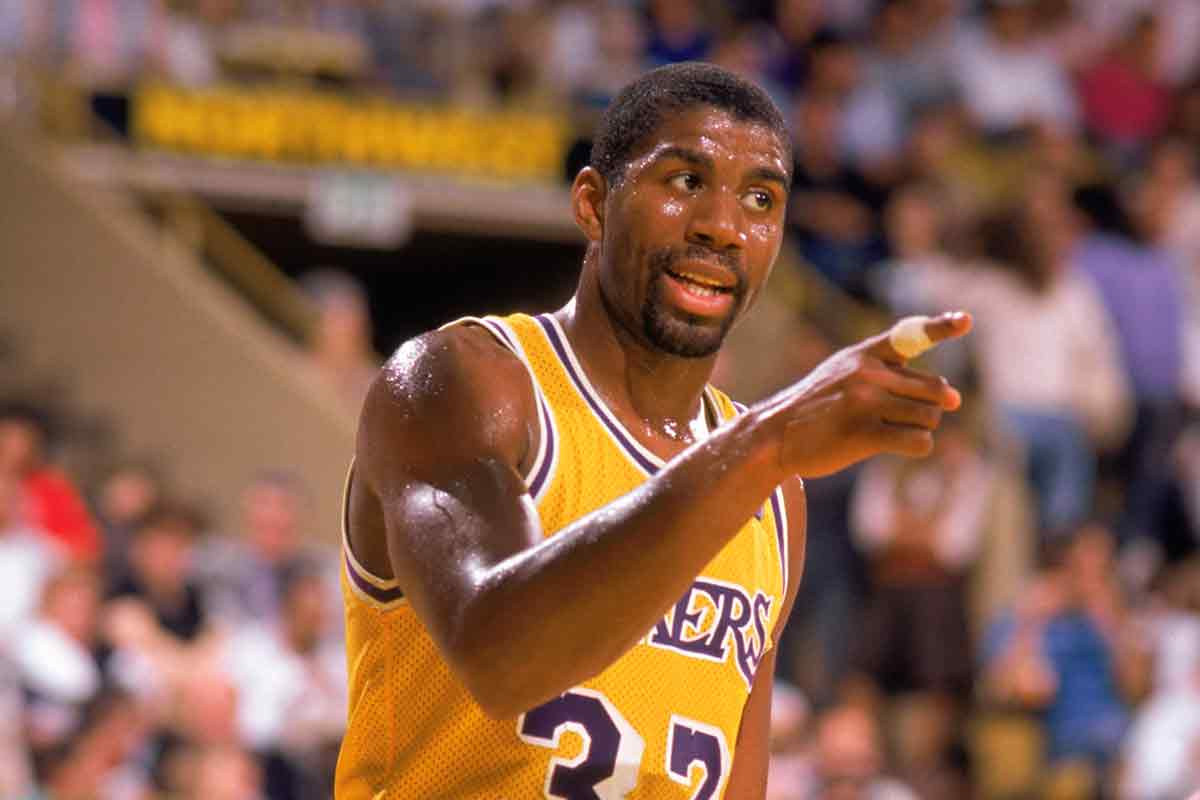 Magic johnson un mago de p rpura y oro - Magique basket ...
