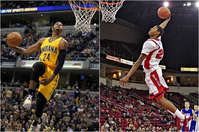 Paul George en la NCAA y la NBA