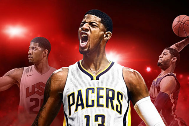 Paul George, portada del NBA 2K17