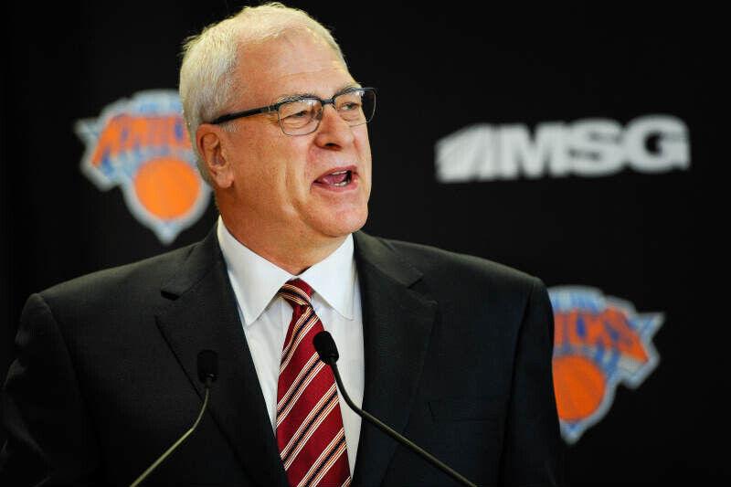 Phil Jackson de New York Knicks