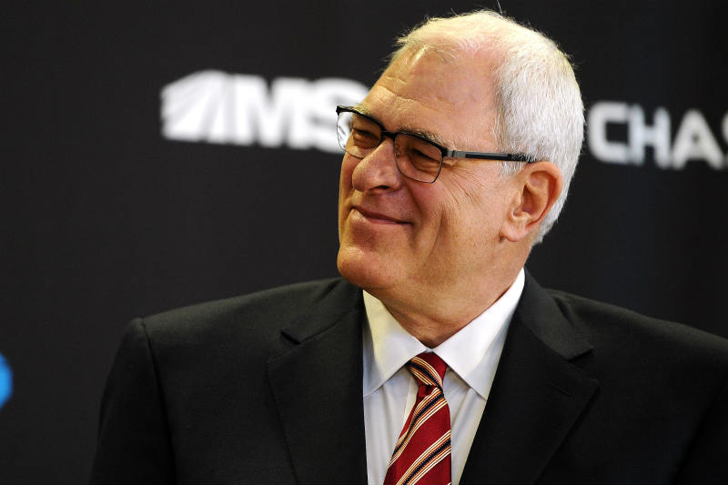 Phil Jackson de New York Knicks