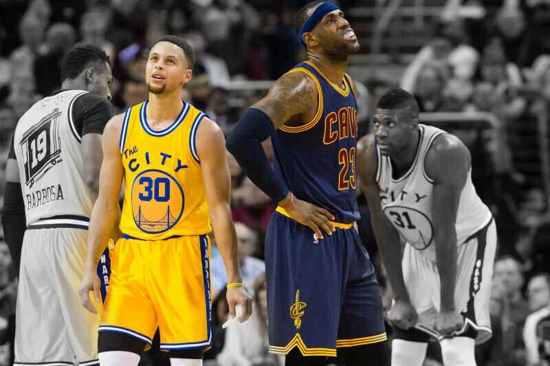 Stephen Curry-LeBron James