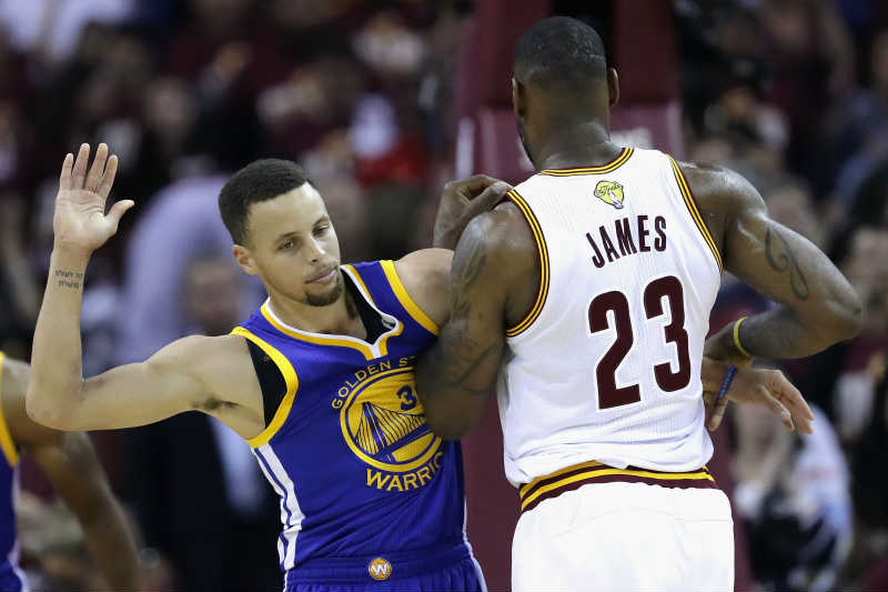 Stephen Curry-Lebron James