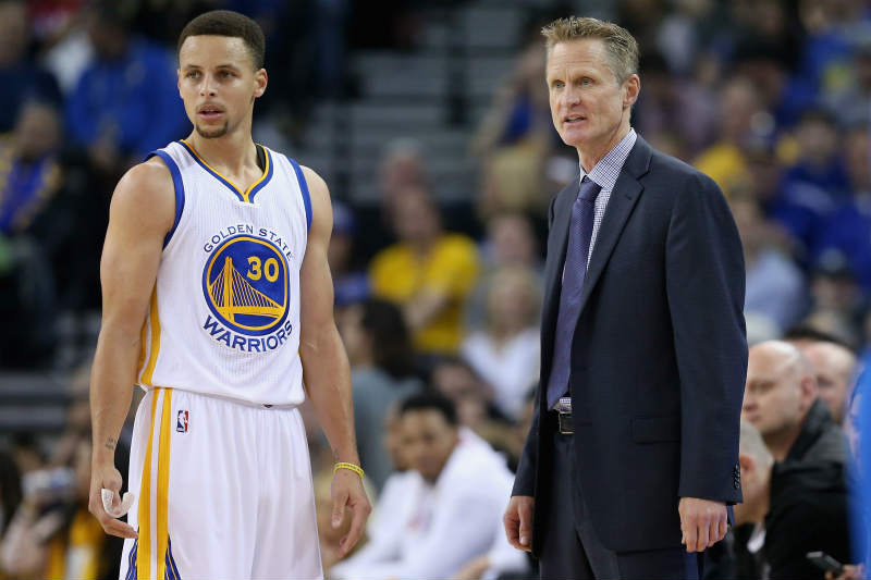 Steve Kerr-Stephen Curry