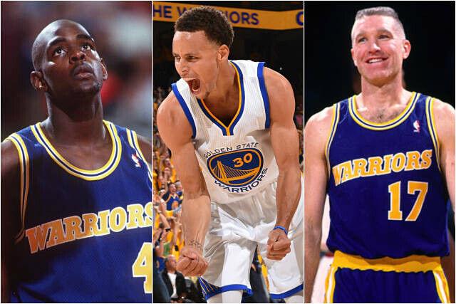 Golden State Warriors a través de los años