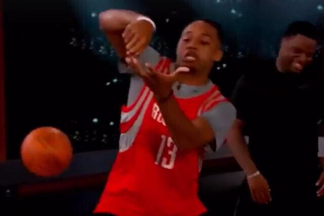 El imitador NBA y su actuación más brillante