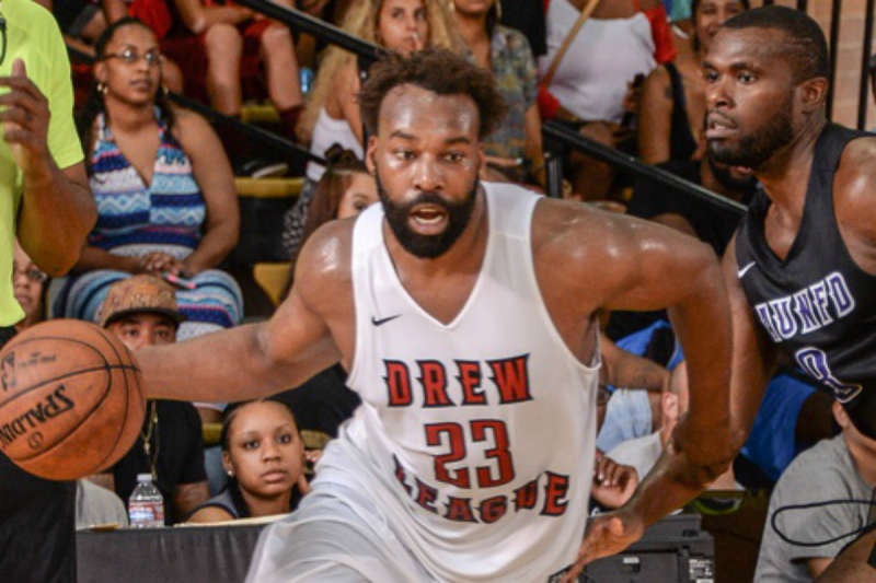 Baron Davis en la Drew League