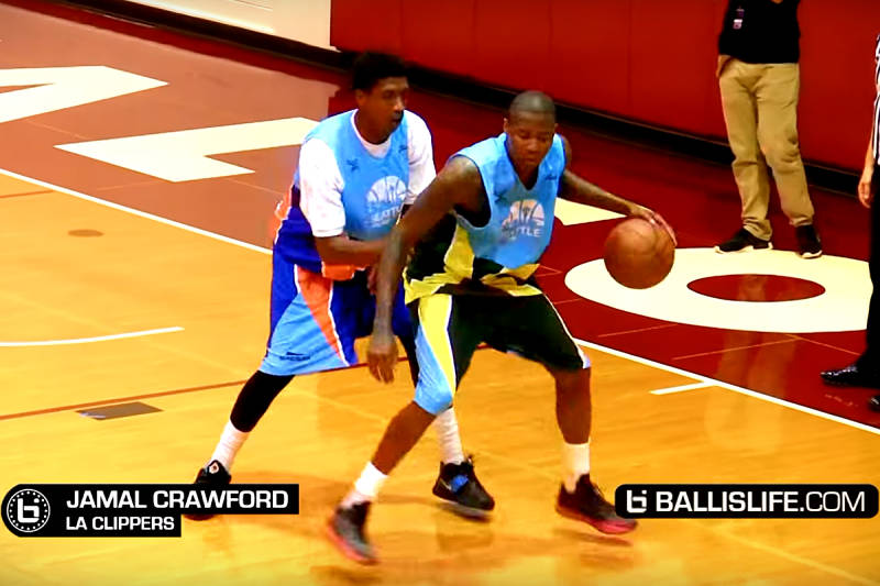 Jamal Crawford en la Seattle Pro Am