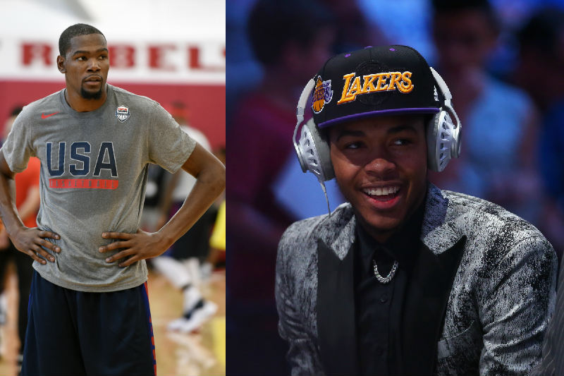 Kevin Durant, Brandon Ingram