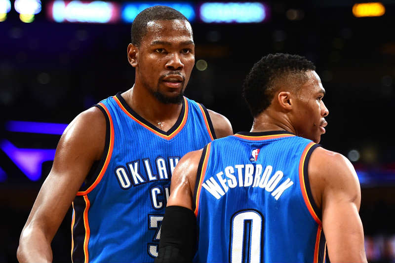 Kevin Durant , Russell Westbrook