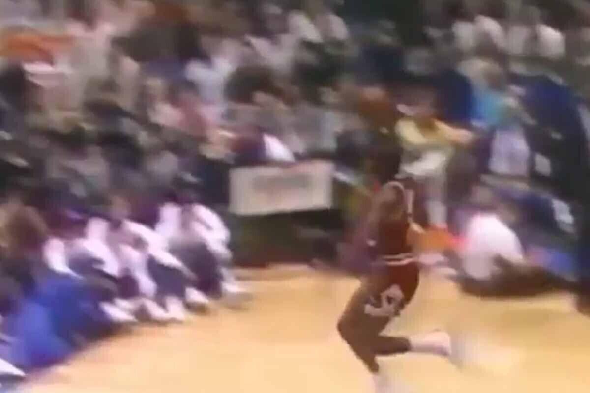 Michael Jordan, en el Dunk Contest de 1988