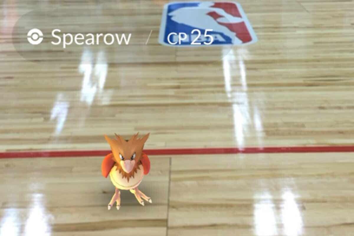 Pokemon Go llega a la NBA