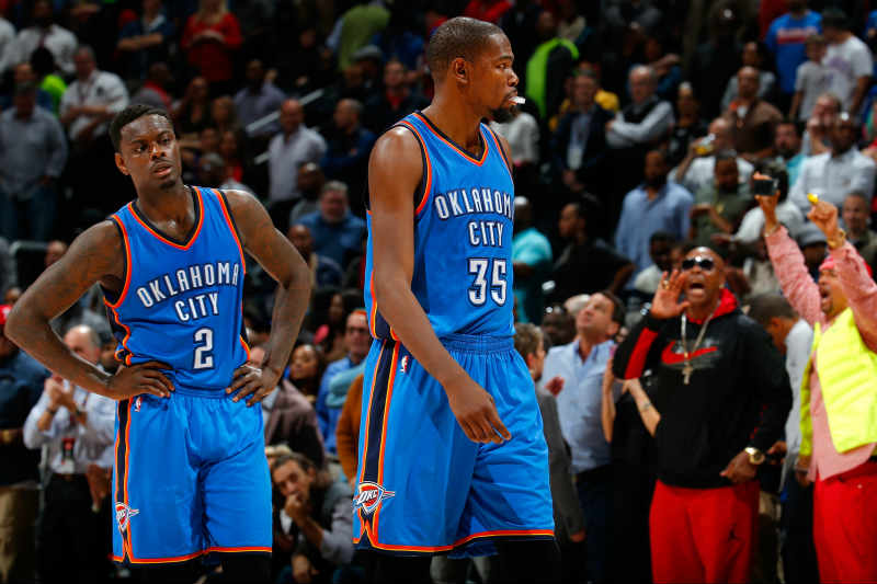 Anthony Morrow, Kevin Durant
