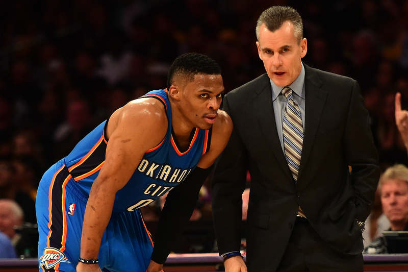 Billy Donovan, Russell Westbrook