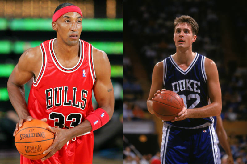 Christian Laettner, Scottie Pippen