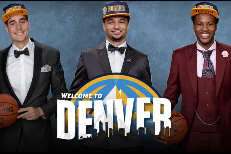 Los rookies de Denver Nuggets