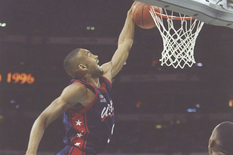 Grant Hill con el Team USA