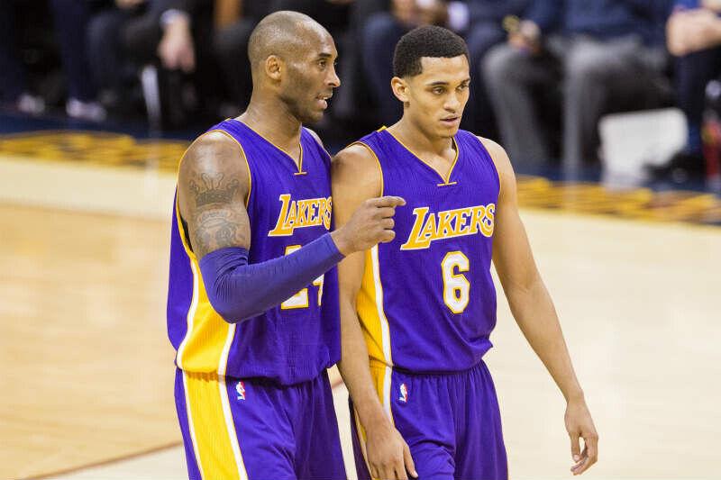 Jordan Clarkson, Kobe Bryant