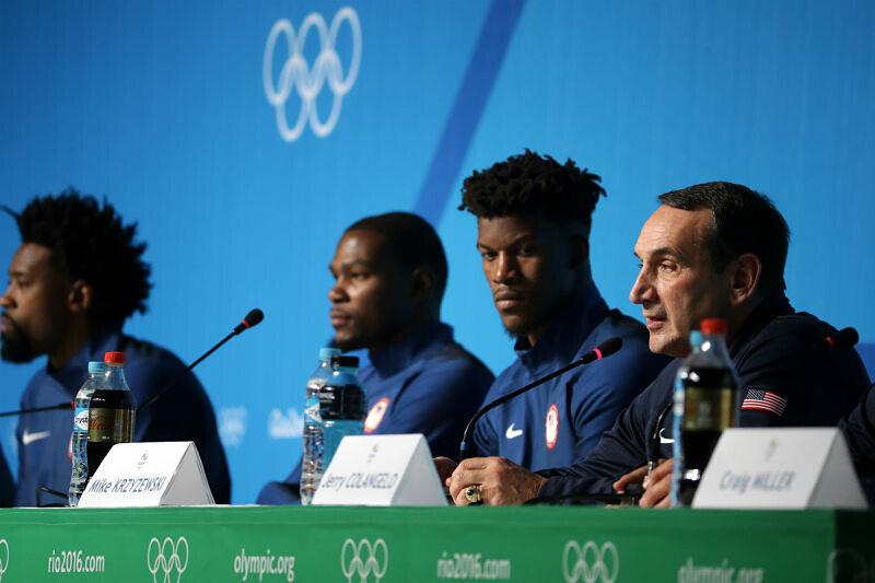 Jugadores de la NBA en Río 2016