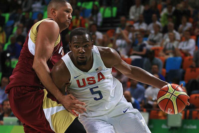 Kevin Durant lidera al Team USA