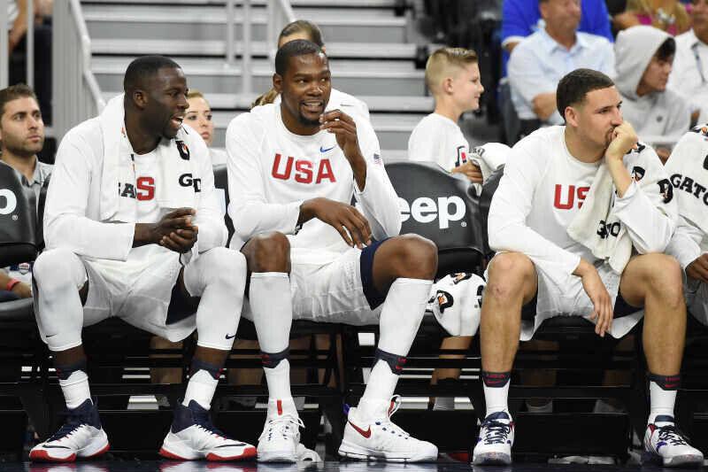 Klay Thompson, Kevin Durant