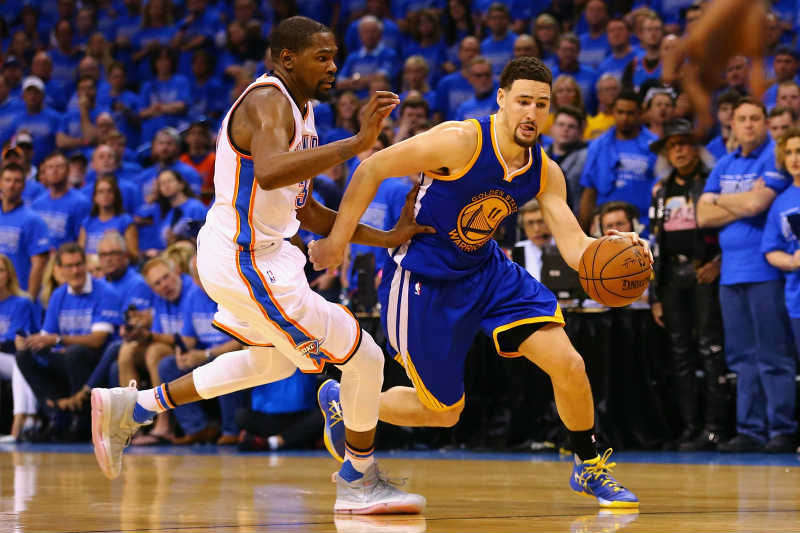 Klay Thompson, Kevin Durant