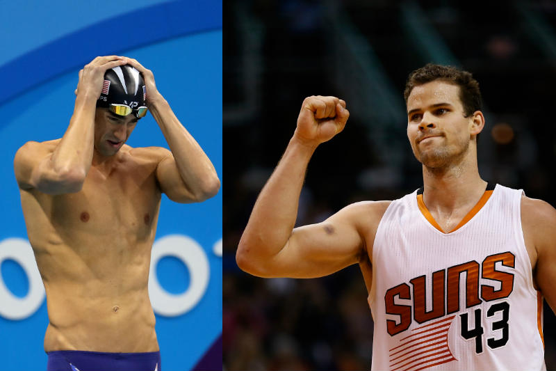 Kris Humphries, Michael Phelps
