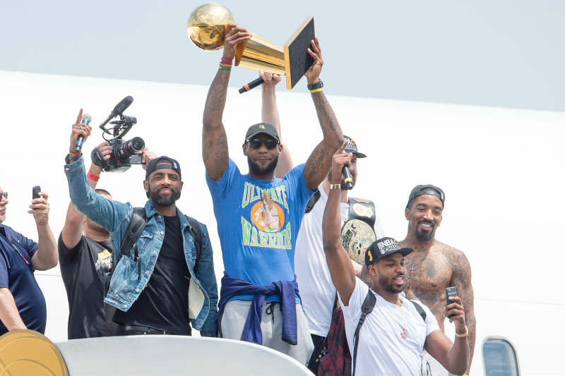 LeBron James 'The Ultimate Warriors'
