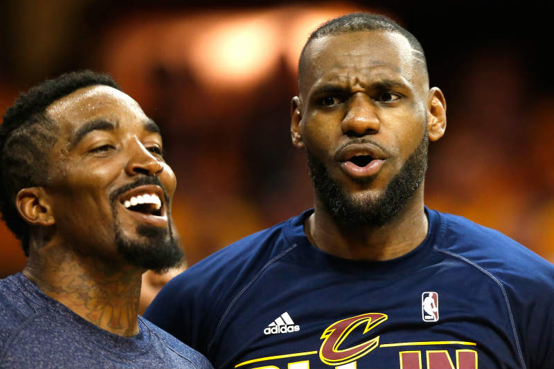 LeBron James, J.R. Smith