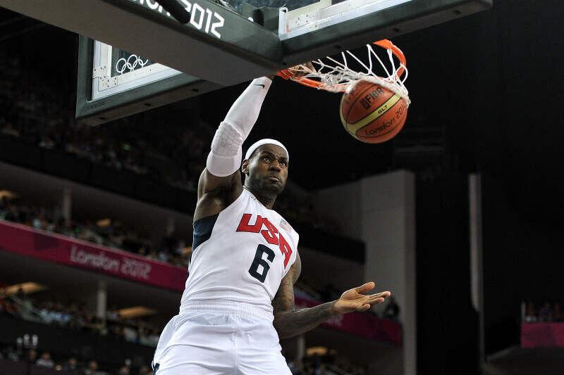 LeBron James USA Basketball