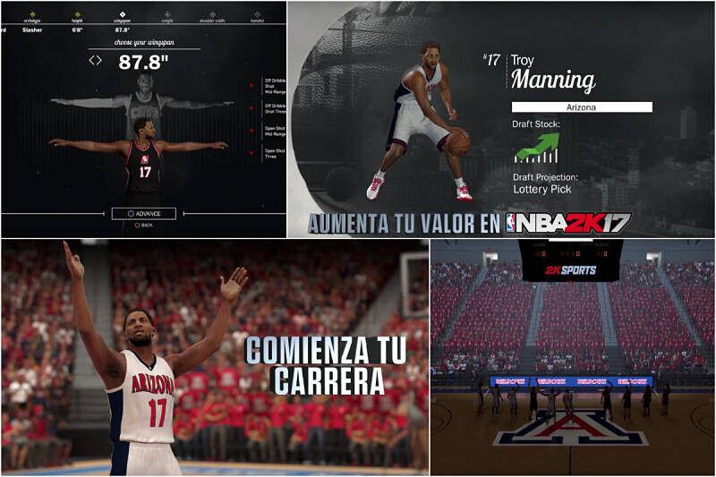 Nueva opción del NBA 2K17