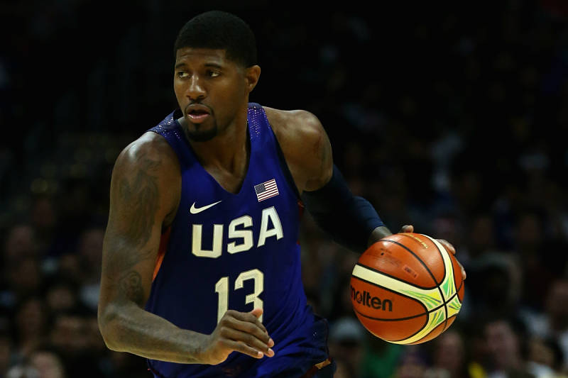 Paul George con el Team USA