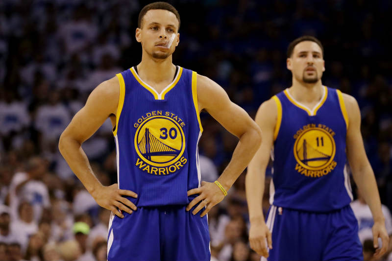 stephen curry and klay thompson relationship trust