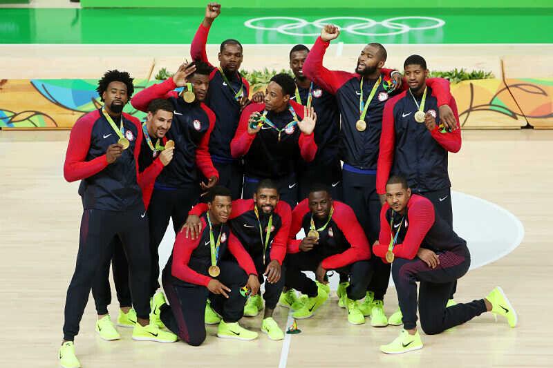 Celebración del Team USA